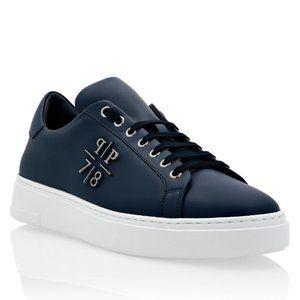 PHILIPP PLEIN Men's PP1978 Lo-Top Sneakers NAVY